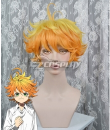 The Promised Neverland Emma Orange Yellow Cosplay Wig