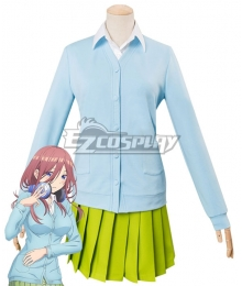 The Quintessential Quintuplets Go-Tōbun no Hanayome 5 Equal Brides Miku Nakano Cosplay Costume