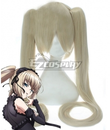 The Qwaser of Stigmata Ekaterina Kurae Grey Cosplay Wig