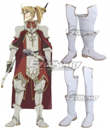 The Rising of the Shield Hero Motoyasu Kitamura White Shoes Cosplay Boots