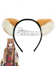 The Rising Of The Shield Hero Raphtalia Raccoon Ears Cosplay Accessory Prop