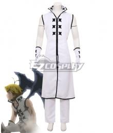 The Seven Deadly Sins: Kamigami no Gekirin Meliodas White Cosplay Costume