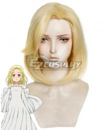 The Seven Deadly Sins Nanatsu No Taizai Elaine Golden Cosplay Wig