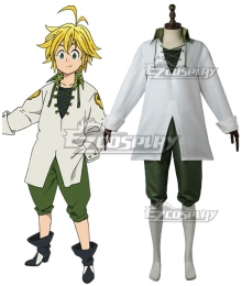 The Seven Deadly Sins: Revival Of The Commandments Nanatsu No Taizai Season 2 Dragon's Sin Dragon's Sin Of Wrath Meliodas Cosplay Costume - A Edition