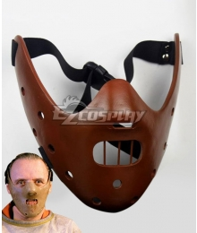 The Silence of the Lambs Hannibal Lecter Mask Cosplay Accessory Prop