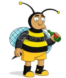 The Simpsons Bumblebee Man Cosplay Costume
