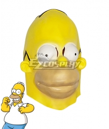 The Simpsons Homer J Simpson Mask Cosplay Accessory Prop
