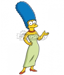The Simpsons Marge Simpson Cosplay Costume