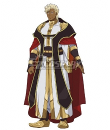 The Titan's Bride Kaius Lao Bister Cosplay Costume