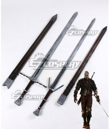 The Witcher 3: Wild Hunt Geralt Of Rivia Two Swords Cosplay Weapon Prop