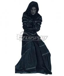 The Witcher TV 2019 Yennefer of Vengerberg Stripe Black Set Cosplay Costume