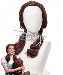 The Wizard of Oz Dorothy Brown Cosplay Wig