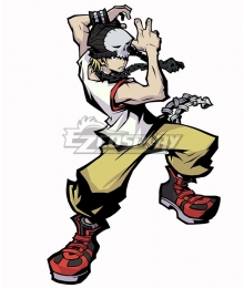 The World Ends with You: Final Remix Beat Daisukenojo Bito Cosplay Costume