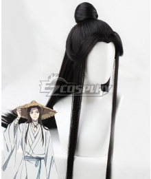 Tian Guan Ci Fu Heaven Official's Blessing Xie Lian Black Cosplay Wig