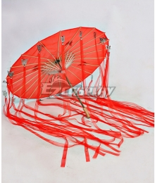 Tian Guan Ci Fu Heaven Official's Blessing Hua Cheng Red Umbrella Cosplay Accessory Prop