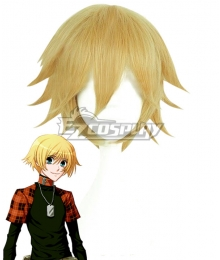 Togainu no Chi Rin Golden Cosplay Wig