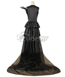 Tokyo Ghoul Rize Kamishiro Black Dress Cosplay Costume