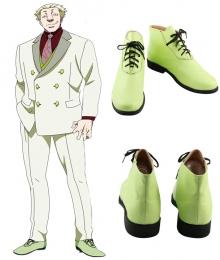 Tokyo Ghoul Yakumo Oomori Green Cosplay Shoes