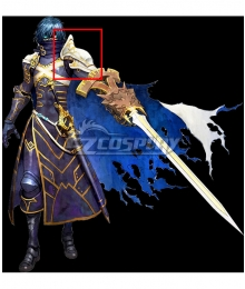 Tokyo Mirage Sessions ♯FE Chrom Shoulders Cosplay Accessory Prop
