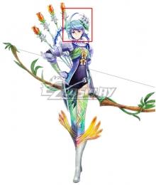 Tokyo Mirage Sessions FE Eleanora Ellie Yumizuru Mirage Master Blue Cosplay Wig