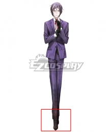 Tokyo Mirage Sessions FE Yashiro Tsurugi Brown Cosplay Shoes