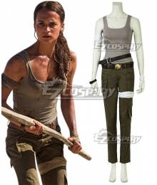 Tomb Raider 2018 Movie Lara Croft Cosplay Costume