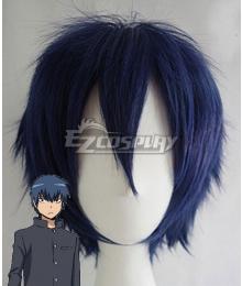 Toradora Ryuuji Takasu Black Blue Cosplay Wig