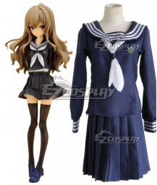 Toradora Taiga Aisaka Deep Blue School Uniform Cosplay Costume
