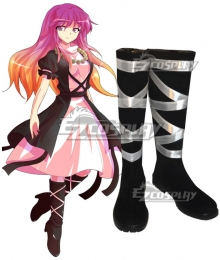 Touhou Project Byakuren Hijiri Black Shoes Cosplay Boots