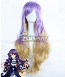 Touhou Project Byakuren Hijiri Purple Cosplay Wig