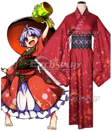 Touhou Project Double Dealing Sukuna Shinmyoumaru Cosplay Costume