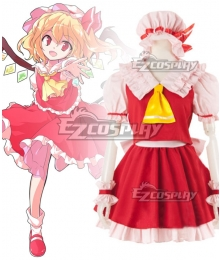 Touhou Project Flandre Scarlet Cosplay Costume