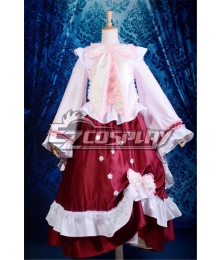 Touhou Project Houraisan Kaguya Lolita Cosplay Anime  Costume-Y301