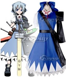 Touhou Project Ice Fairy Cirno Cloud Cosplay Costume