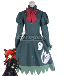 Touhou Project Kaenbyou Rin Cosplay Costume