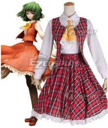 Touhou Project Kazami Yuuka Cosplay Costume