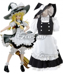 Touhou Project Kirisame Marisa Cosplay Costume