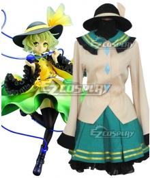 Touhou Project Komeiji Koishi Cosplay Costume