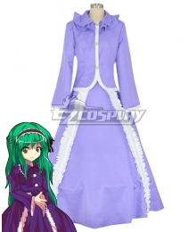 Touhou Project Layla Prismriver Cosplay Costume