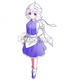 Touhou Project Letty Whiterock Cosplay Costume