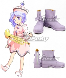 Touhou Project Merlin Prismriver Purple Cosplay Shoes
