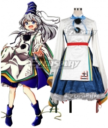 Touhou Project Mononobe no Futo Cosplay Costume