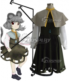 Touhou Project Nazrin Cosplay Costume