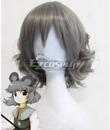 Touhou Project Nazrin Gray Cosplay Wig