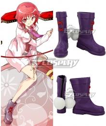 Touhou Project Raiko Horikawa Purple Cosplay Shoes
