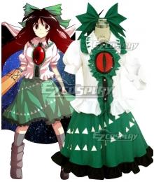 Touhou Project Reiuji Utsuho Cosplay Costume