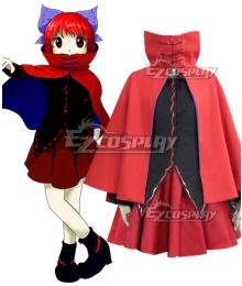 Touhou Project Sekibanki Cosplay Costume