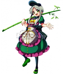 Touhou Project Teireida Mai Cosplay Costume