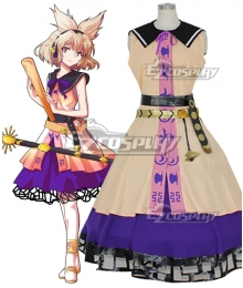 Touhou Project Ten Desires Toyosatomimi no Miko Cosplay Costume