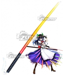 Touhou Project Tenshi Hinanai Sword Cosplay Weapon Prop